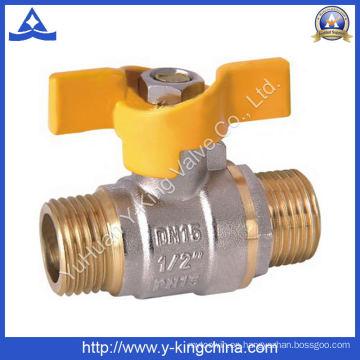 Válvula de agua de latón utilizada en agua (YD-1012)
