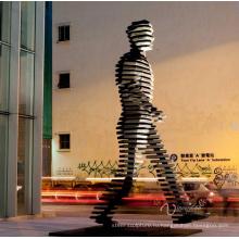 арт-деко, идущий на восток статуя украшения города большой известный морден искусства скульптуры
