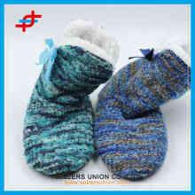 2015 hot sale ladies winter fashion soft color home half boots
