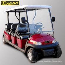 6-Sitzer-Elektro-Sightseeing-Car für Ferienanlage