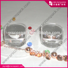 Transparent Jars With Silvery Cap Cosmetic Lipstick Container