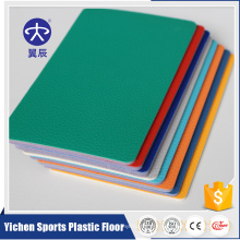 Yichen comfortable indoor pvc sports flooring for table tennis hall