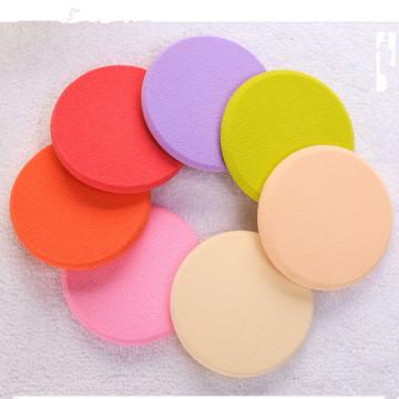 Qualitäts-runder kosmetischer flaumiger Puder-Hauch-Großverkauf