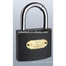 high quality black painted brand lock