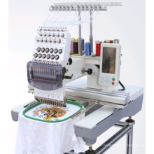 Computerized Single Head 12 and 15 Colors Cap Embroidery Machine Price Made in China