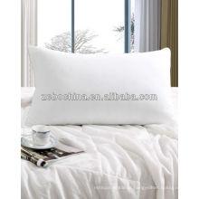 Material de enchimento diferente da alta qualidade disponível travesseiro da cama do hotel do wholsale