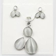 Fashion Costume en acier inoxydable boucles d'oreille bijoux