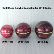 15g 30g 50g Ball Form Acryl-Verpackung für Kosmetik
