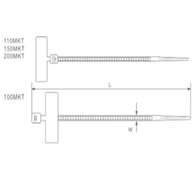 nylon Marker Cable Ties graphic