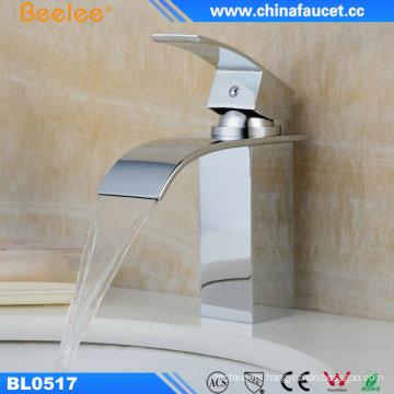 Waterfall Bathroom Sink Vanity Basin Faucet Sanitary Ware