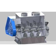 Misturador de pás de eixo duplo de gravidade zero WZ, design de misturador de alimentação horizontal SS, marcas horizontais de liquidificador de alimentos