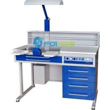 Équipements de laboratoire dentaire (Modèle: Station de travail (unique) AX-JT4) (homologué CE)