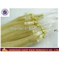 Alibaba Express Brazilian Human Hair Double Drawn 11A Grade 1g/strand Micro Loop Ring Hair Extension