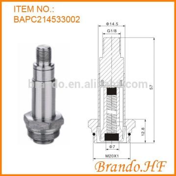 2 vías solenoides normalmente cerrados piezas de repuesto tubo de émbolo