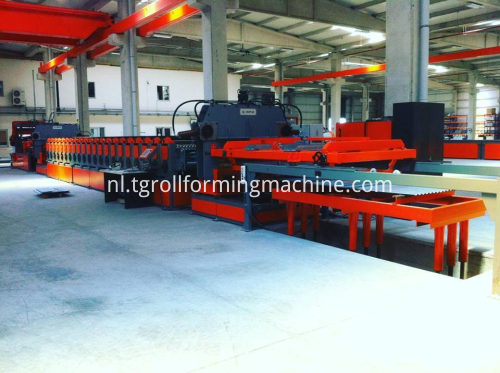 Silo Roll Forming Machine Line