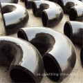Acero al carbono ASTM Buttwelding 180 degree Black Elbow