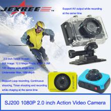 JEXREE SJ200 impermeabiliza la cámara digital de la acción de los deportes de la cámara con el paquete al por menor