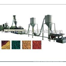 Línea de granulación de PVC