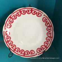 Фарфор Керамическая Тип плиты,китайская керамическая плита,плита супа