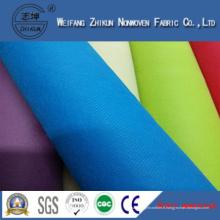 Tissu non-tissé de Spunbond 100% pp pour des sacs de cadeaux