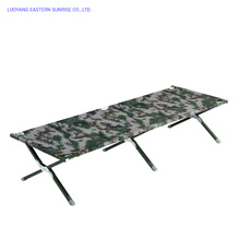 Hot Selling Durable and Portable Military Single Folding Camping Bed
