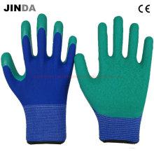 Защитные перчатки с латексным покрытием (LS211)