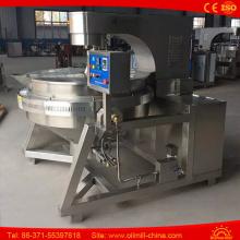 Round Shape Industrial Hot Air Popcorn Machine Big Popcorn Machine