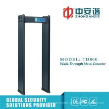 Bus Station Security Detector de Metal 20 Securty Level Metal Detector Gate