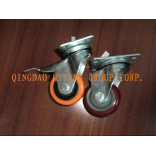 Swivel caster wheel with Brake