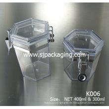 300ml 400ml 750ml 1000ml Masken Dosen Maske Buttle Airless Kunststoff Kosmetik Glas