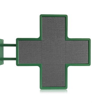 Display a LED Cross Pharmacy