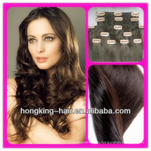 Wholesale price clip in hair extensions for african american