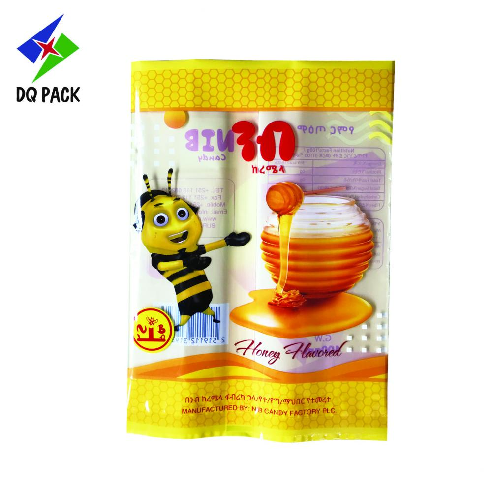 Three Side Sealing Bag For Honey