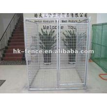 perrera soldada / jaula exterior para perros