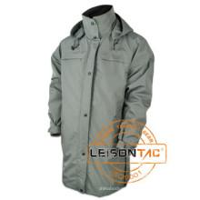 Long Style Waterproof Parka Adopting Waterproof Breathable Dryvin Fabric Jacket