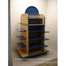 Increasing Your Brand Value Clothes Retail Shop Wood Gondola Shelving Display Clothing Rack Floor Display
