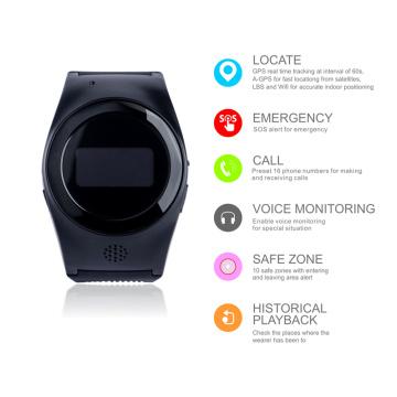 Assista GPS Trackers para a demência de Alzheimer e Idosos R11