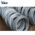 Aço inoxidável BTO 22 arame farpado preço de malha de arame