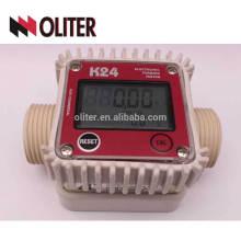 medidor de turbina eléctrica k24 de agua de aire digital