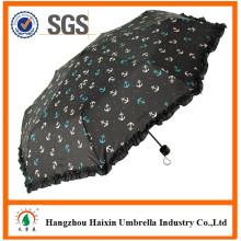 Windproof mini guarda-chuva à pintura de dobramento