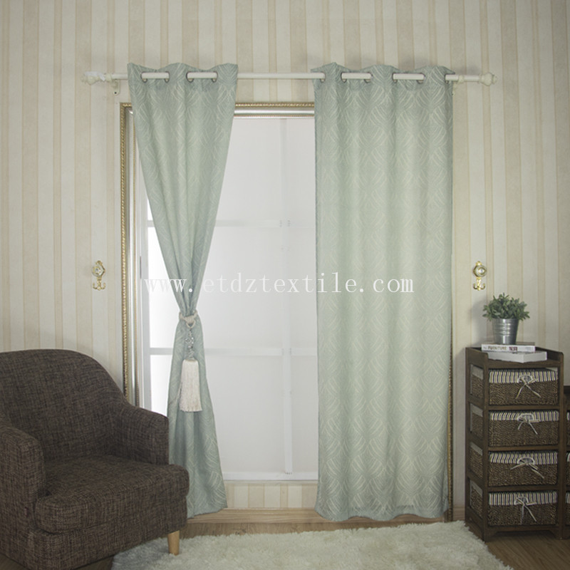 Seaweed design curtain 6023