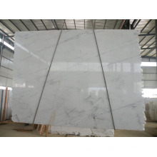 Chinese White Marble Calacatta White Tile