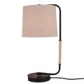 Hot Sale Modern Hotel Home Creative Bedroom Fabric Shade Table Lamp