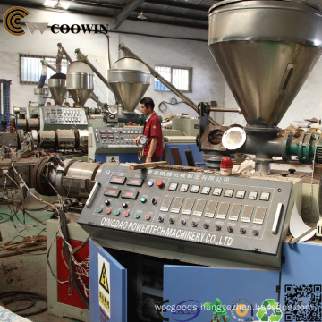 Double - Screw PVC Wood Plastic Board Production Line for Outdoor Decking/Cladding