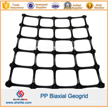 Polipropileno plástico PP Biaxial Geogrids 20kn 30kn 40kn