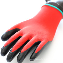 Wear resistant Lightweight Washable Grease Monkey Nitrile Dipped Gloves