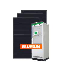 Bluesun Hybrid Solar Panels Battery Storage 30KW 30000W 30KVA Solar Panel System 30KW Battery Life04 Ion Lithium