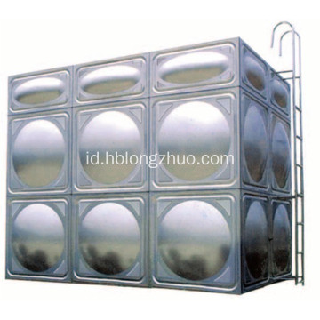 Panel Air Minum Tangki Air Stainless Steel