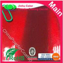 Rot Transparente Decklack Pulver Farbe