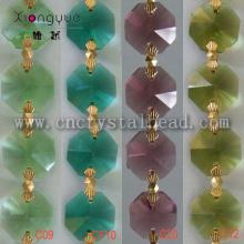 DL04 cristal octogone chaînette